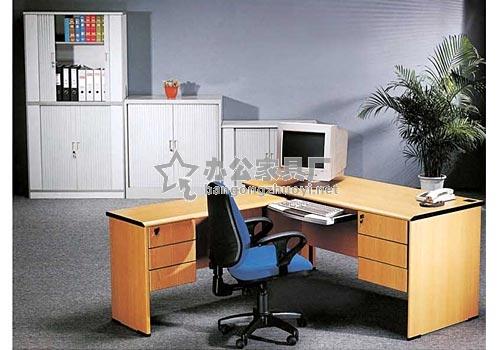 板式办公桌图片