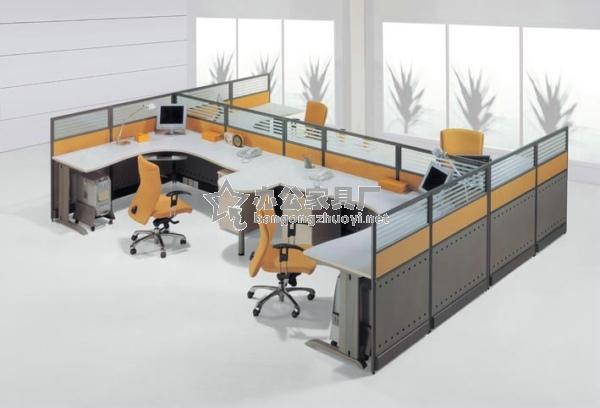 屏风办公桌尺寸图片