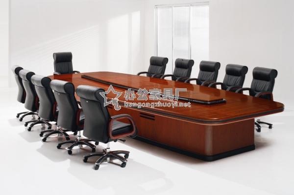 实木会议桌图片