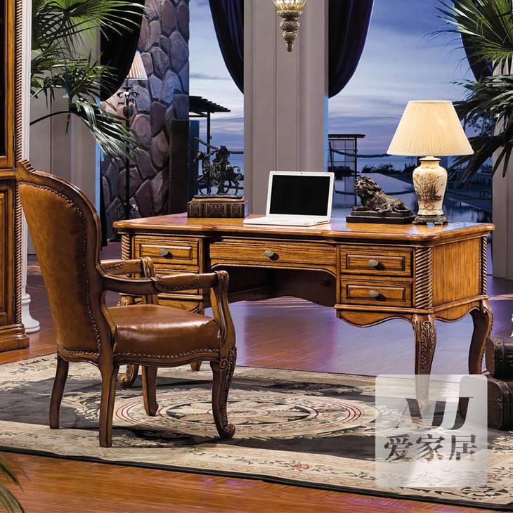 美式办公桌图片