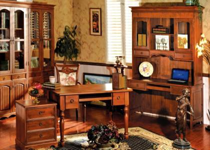 英式办公桌图片
