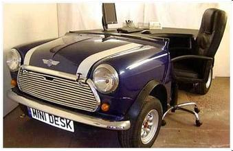 汽车办公桌图片